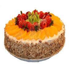 Resultado de imagen para pastel de frutas decoracion
