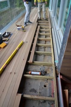 Detail – waterproofing – deck « home building in Vancouver