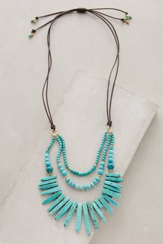 Lucero Necklace #anthrofave #anthropologie