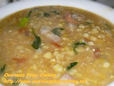 Suam na Mais, Pinoy Corn Soup