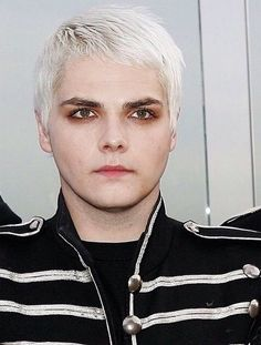 gee can look tired bored and half-dead and he's still the prettiest one at the party