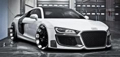 Audi R8 Tuned with body kit