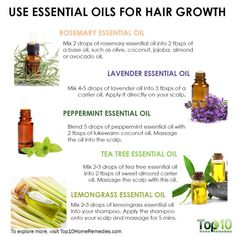 hair beauty - 7 Essential Oils Natural Agents to Promote Hair Growth Top 10 Home Remedies Natural Hair Tips, Natural Hair Growth, Natural Hair Styles, Herbs For Hair Growth, Natural Oils, Natural Beauty, Hair Growth Shampoo, Diy Hair Growth Oil, Essential Oils