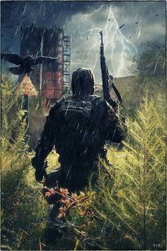 survival-horror computer game series (including Shadow of Chernobyl, Clear Sky, Call of Pripyat, and community mods. Metro 2033, Apocalypse Art, Apocalypse Survival, Apocalypse Character, Mad Max, Cyberpunk, Zombies, Post Apocalyptic Art, Chernobyl
