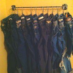 towel rack with s hooks