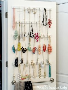 I have A LOT of statement necklaces and scarves and was finding it difficult to locate and choose the pieces I was looking for when getting ...