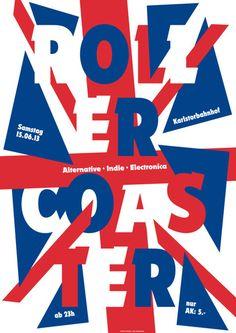 ger, by götz gramlich - typo/graphic posters Typography Letters, Typography Logo, Lettering, Menu Card Design, Indie, Typographic Poster, Festival Posters, Graphic Design Illustration, Designer