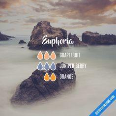 Euphoria Essential Oil Diffuser Blend
