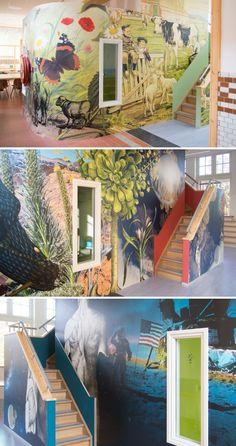 Muurbloem custom wallpaper design by Muurbloem design studio seen at Roermond, Roermond Accent Wallpaper, More Wallpaper, Custom Wallpaper, Designer Wallpaper, Wall Installation, New Artists, Your Space, Graphic Design, Explore