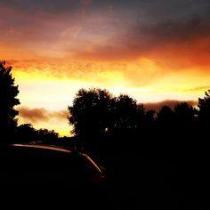 Beautiful sunset #sunset