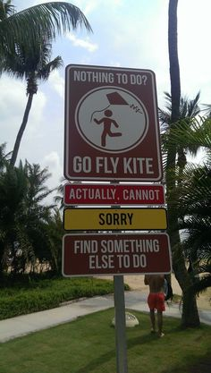 In Singapore and found this sign at the beach