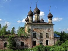 God-forsaken: Abandoned churches and cathedrals of Russia - 47 / Dormition Church, 1755. The village of Elokhovo, Yaroslavl Oblast