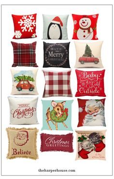 Looking for an easy way to decorate this holiday season? Check out these cheap Christmas pillows all available on Amazon for under $10!