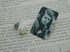 The White Rose jewelry Sophie Scholl brooch Peace jewelry  Womens History by SarahWoodJewelry on Etsy