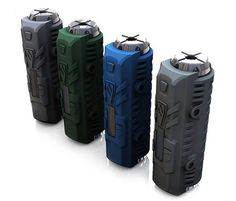 Heatvape Invader Mini 50W E-Cigarette Mod by 1 x 18650 Battery-55.79 and Free Shipping| GearBest.com