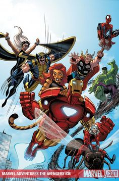 Avengers by Casey Jones