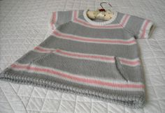 striped pullover by Phildar Design Team for my beautiful granddaughter
