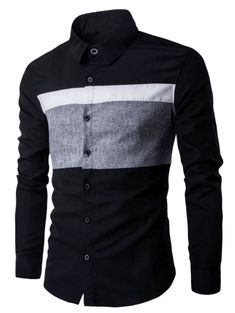 Cheap leisure shirt, Buy Quality men casual shirt directly from China shirt men Suppliers: Hot 2017 New shirts men spring leisure shirt dress Patchwork camisa social camisa social masculina joker men casual shirts African Clothing For Men, African Shirts, African Men Fashion, Cool Outfits For Men, Casual Shirts For Men, Men Casual, Mens Designer Shirts, Men Dress, Shirt Dress