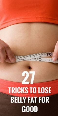 how to lose belly fat for good