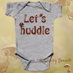 Funny Boy Onesie Football Onsie Newborn Romper to Funny Toddler T shirts. $16.95, via Etsy.