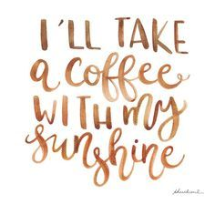 Coffee ☕ & Sunshine
