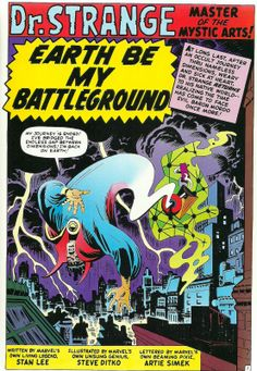 ditko dr strange | TooBusyThinking's 101 Favourite Comics Books & Strips (Part 1 of 3)