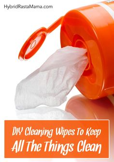 Try this super easy DIY disinfecting wipes recipe I created. Diy Cleaning Wipes, Cleaning Toys, Cleaning Hacks, Natural Cleaning Recipes, Homemade Cleaning Products, Natural Cleaning Products, Natural Health Tips, Natural Healing, Essential Oils Cleaning