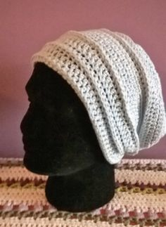 Slouch Hat Powder Blue £28.  #Handmade by a #Spoonie crafting through Chronic Illness and Disability.  Join the Crafties at www.ConsciousCrafties.com #Craft #Awareness #ChronicIllness #ChronicPain #Disabilities #Disability #InvisibleIllness #InvisibleIllnessWeek #InvisibleFight #Carer #SpoonieCraft
