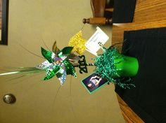 Graduation party centerpiece