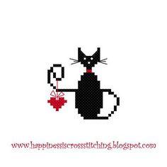 Le bonheur est Cross Stitching: modèles valentine gratuit point de croix, Rosey terminé, nouvelle cachette et poupées Tilda!