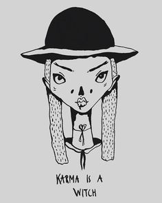 karma is a witch Ⓒ tuesday wednesday Ghost Adventures, Tuesday Wednesday, Fallout Vault, Karma, Witch, Boys, Illustration, Handmade, Fictional Characters