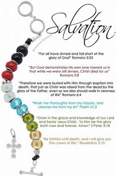 Salvation bracelet - Premier Designs Christmas 2015 -