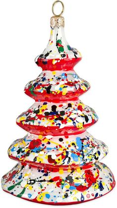 Glitterazzi Joy to the World Collectibles Artisan Tree Christmas Ornament