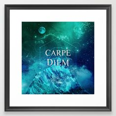 """Translated from Latin this means """"Seize the Day"""". A simple reminder for us all that life is short, and to """"live everyday to the max"""" and just """"BE in moment"""", be true to ourselves and thus others as well to welcome more joy and love with our + energy."""