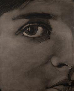 Huile dur toile 120x150 Fabienne Roux ©