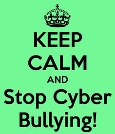 I will continue to not cyber bully anyone, or post things that would hurt other people on the internet, because that would create a lot of unwanted feelings and i would feel bad making them.