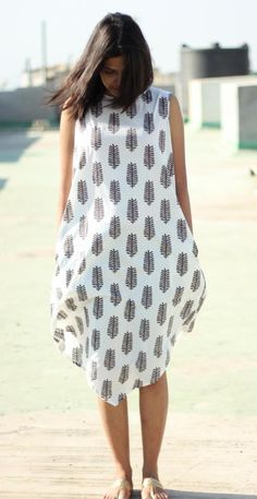 3b71260fd4 Organic Cotton. Natural Dyed. Sustainable. Ethical. Fairtrade Dress. Cotton  Lights