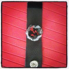 #wristlet #handmade #leather #pariermache #artepovera #inspired #volkano #stylish #gilry #alternative
