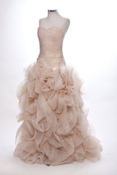 bridal gown #wedding
