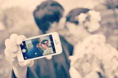 前撮りや結婚式で撮りたい、おしゃれな〔フォトインフォト〕のアイデア   marry[マリー] Polaroid Film