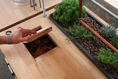 Van Interior, Interior Ideas, Food System, Wood Joinery, Kitchen Dinning, Sustainable Food, Home Staging, Food Storage, Home And Garden