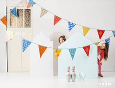Mr Fox Party Bunting 11m