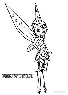 Tinkerbell Flying Coloring Pages To Print