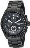 awesome Fossil Men's CH2601 Black Stainless Steel Bracelet Black Analog Dial Chronograph Watch