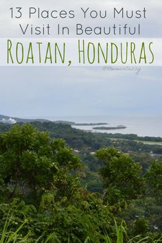 Roatan, Honduras is a wonderful island sporting blue skies, crystal clear water, sandy beaches, and more. Roatan has no shortage of beautiful locales. Roatan Honduras Resorts, Roatan Island Honduras, Honduras Travel, Western Caribbean Cruise, Caribbean Vacations, Dream Vacations, Cruise Excursions, Cruise Destinations, Alberta Canada