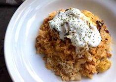 Rakott káposzta Meat Recipes, Recipies, Grains, Rice, Kitchen, Hungarian Food, Recipes, Cooking, Hungarian Cuisine