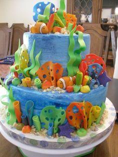 under the sea cake $165