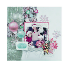 Kaisercraft - Silver Bells Collection - Christmas Layout Scrapbook Pages, Scrapbooking, Christmas Layout, Project Life, Ranges, Layouts, Xmas, Halloween, Winter