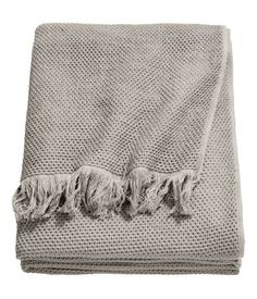 Tagesdecke aus Baumwolle | Grau | Home | H&M DE