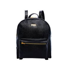 Leather backpack Black backpack Lizard leather by MONAObags